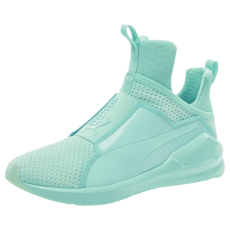 Puma Damen Fierce Bright Mesh Sneakers, Blau (Aruba Blue 04), 40 EU