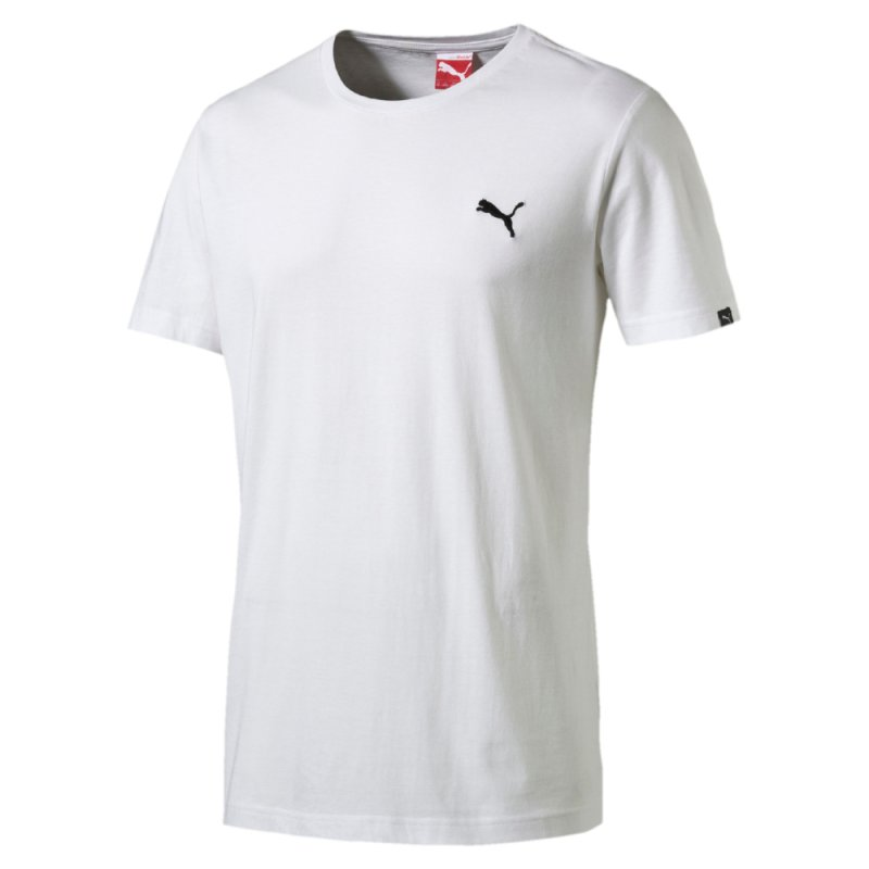 puma ess tee essential herren t shirt wei white 02 14 95. Black Bedroom Furniture Sets. Home Design Ideas