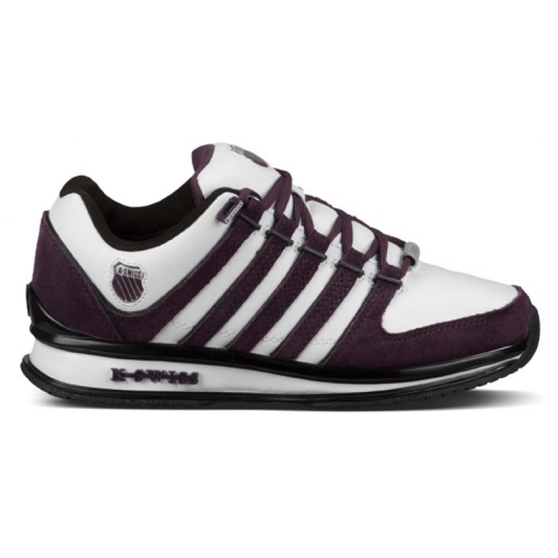 new product 6ff8f bfecd K-Swiss Rinzler SP, Damen Sneaker, Weiß (White/Plum Perfect/Black 175)