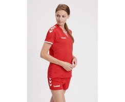 hummel Damen CORE WOMENS SS JERSEY, TRUE RED PR