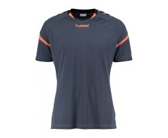 Hummel Herren Auth. Charge Short Sleeve Poly Jersey,...