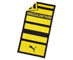 Puma BVB Towel, 053279, Gelb (Cyber Yellow-Puma Black 01)