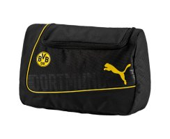 Puma BVB evoPOWER Wash Bag, 073917, Schwarz (Cyber...