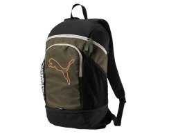 Puma Echo Backpack, 074396, Grün (Olive...