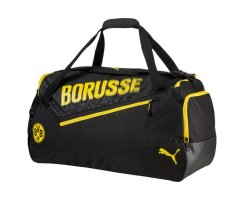 Puma BVB evoSPEED Medium Bag, 074676, Schwarz (Puma...