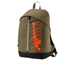 Puma Pioneer Backpack II, 074718, Grün (Olive-Night 04)