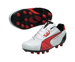 Puma Universal FG Jr, 102701, Weiß (white-high risk...