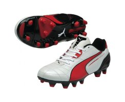 Puma Momentta FG Jr  102711-05 (metallic white-high risk...