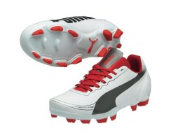 Puma evoSPEED 5.2 FG Jr  102887-03 (white-aged...