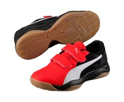 Puma Veloz Indoor III V Jr, 103743, Rot (red...