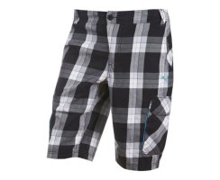 PUMA Beach Check Walkshorts, Herren Shorts, Schwarz/Weiß...