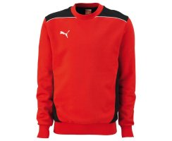 Puma Foundation Sweat, Herren Sweatshirt, Rot (puma...