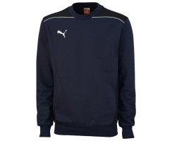 Puma Foundation Sweat, Herren Sweatshirt, Dunkelblau (new...