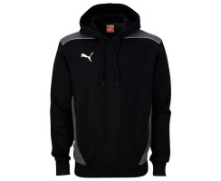 Puma Foundation Hooded Sweat, Herren Sweatshirt, Schwarz...