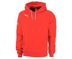 Puma Hoody, 653979, Rot (puma red-white 01)