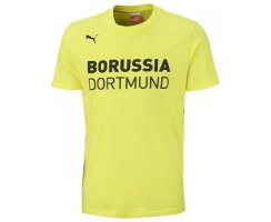 PUMA Kinder T-Shirt BVB Graphic, 741919-02 ( Yellow)