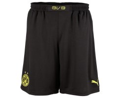 PUMA BVB Home Replica Shorts, Herren Shorts, Schwarz...