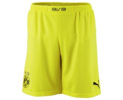 PUMA BVB Home Replica Shorts, Herren Shorts, Gelb...