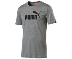 Puma ESS No.1 Logo Tee, 831854, Grau (medium gray heather...