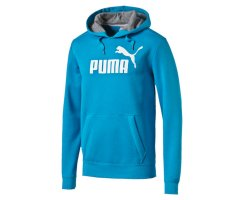 Puma ESS No.1 Logo Hooded Sweat FL Pullover, 831870, Blau...