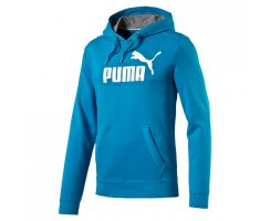 PUMA Herren Sweatshirt ESS No.1 Logo Hooded Sweat TR Blau...