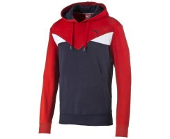 Puma Fun CB Hooded TR, Herren Sweatshirt, Rot (Puma...