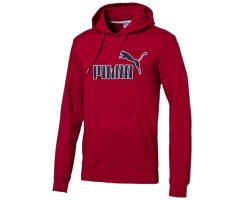 Puma FUN KA PUMA Hooded Sweat FL, Herren Swetshirt, Rot...