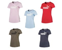 Puma Essentials+ Heather Tee Damen T-Shirt, 852127