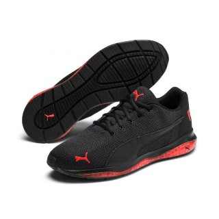 Puma Herren Cell Ultimate Point Laufschuhe, 192357, Schwarz (Black-Black-High Risk Red 05)