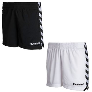 Hummel Damen Shorts Stay Authentic Poly