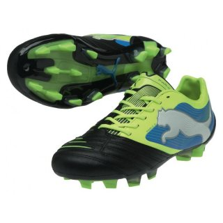 Puma PowerCat 2 FG  102783 (black-fluo yellow-white-brilliant blue 04)