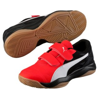 Puma Veloz Indoor III V Jr, 103743, Rot (red blast-white-black 01)