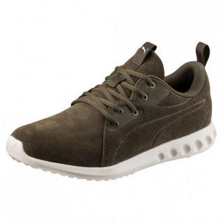 Puma Carson 2 Molded Suede, 190589, Grün (Olive Night-Whisper White 03)