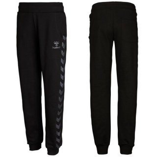 Hummel Classic Bee Womens Sweat Pants, Damen Hose, 39-600, Schwarz (Black 2001)