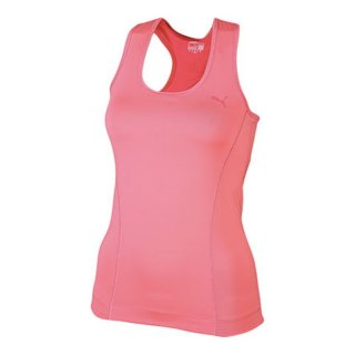 Puma Ess Gym Racerback, Damen Tank Top, Rot (Dubarry)