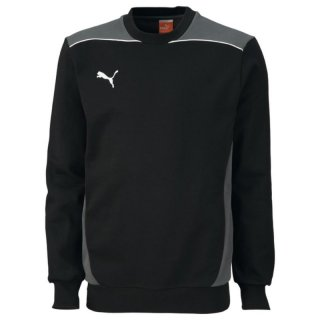 Puma Foundation Sweat, Kinder Sweatshirt, Schwarz (black-dark shadow)