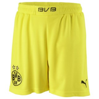 PUMA KINDER BVB KIDS HOME SHORTS HOSE Blazing Yellow/Black vers. Größen Borussia Dortmund