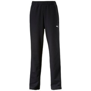Puma ESS Sweat Pants,Terry,open  823994-01 (black-white) Hosen-Lang