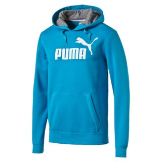 Puma ESS No.1 Logo Hooded Sweat FL Pullover, 831870, Blau (atomic blue 50)